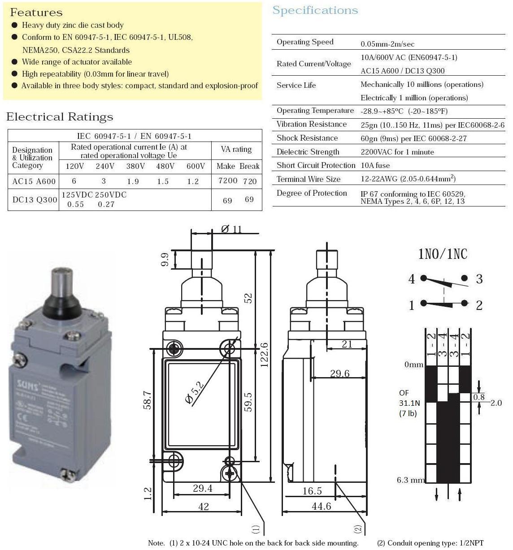 NEW SCHNEIDER TELEMECANIQUE LC1D6511G6 80A 10-50HP//240-600VAC 120VAC COIL P2299