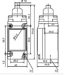 Explosion Proof Limit Switches Hes Series