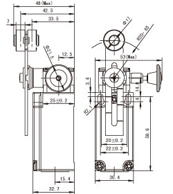 Sn63 besides Limit switches1279 also Honeywell 7800 Burner Control Wiring Diagram moreover Limit switches1295 likewise Wiring Diagram On Single Pole Double Throw Spdt Relay. on actuator limit switch wiring