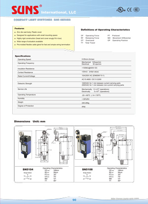 e90 sn5 compact limit switches suns international llc  at soozxer.org