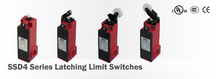 SSD4 Series Latching Limit Switches