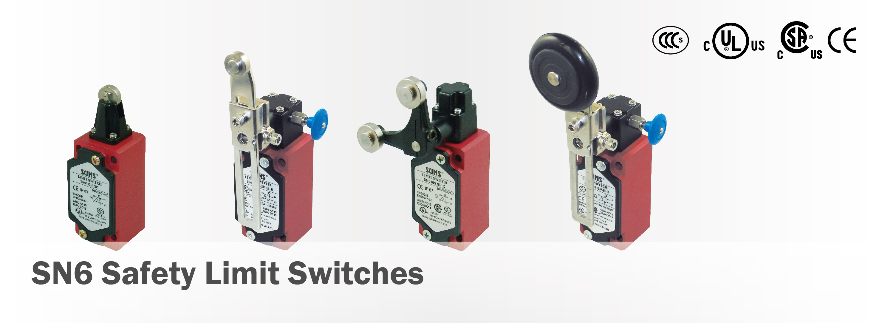 SN6 Safety Limit Switches