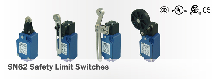 SN62 Safety Limit Switches