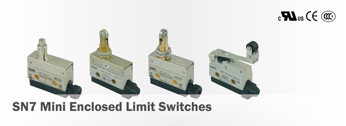 SN7 Mini Enclosed Limit Switches