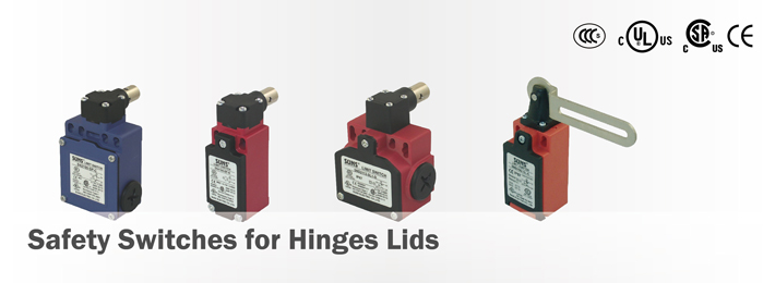 Safety Switches for Hinges Lids