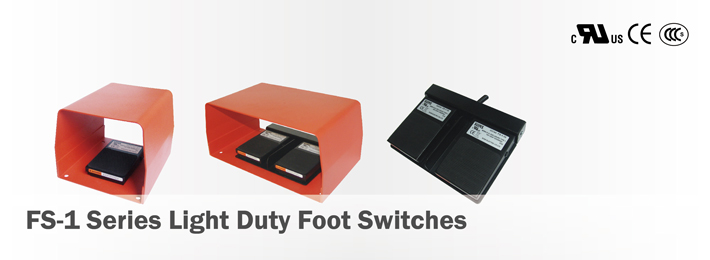 FS-1 Light Duty Foot Switches