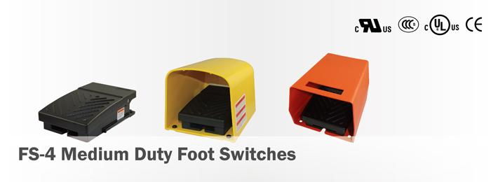 FS-4 Medium Duty Foot Switches