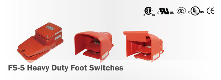 FS-5 Heavy Duty Foot Switches