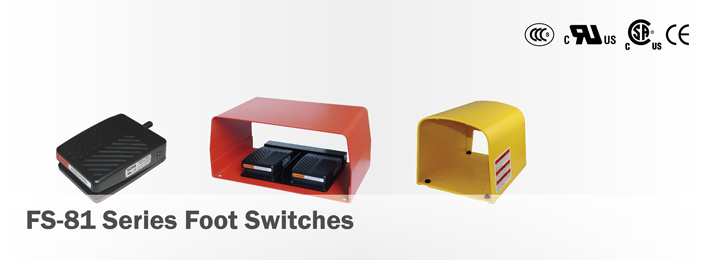 FS-8 Foot Switches Series