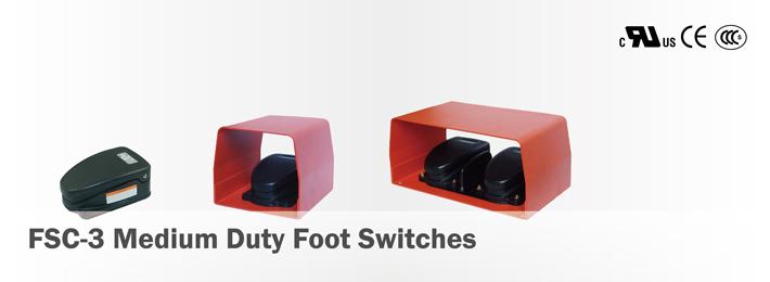 FSC-3 Medium Duty Foot Switches