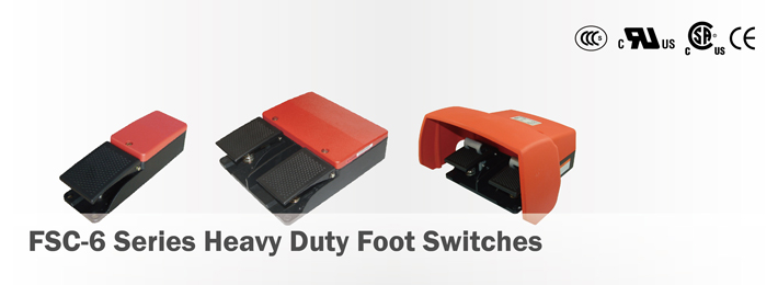 FSC-6 Series Heavy Duty Foot Switches