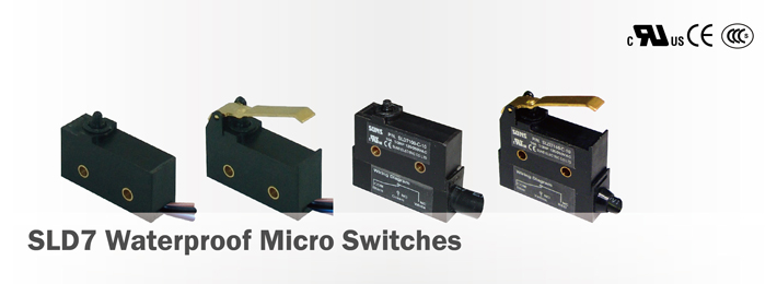 SLD7 Waterproof Micro Switches