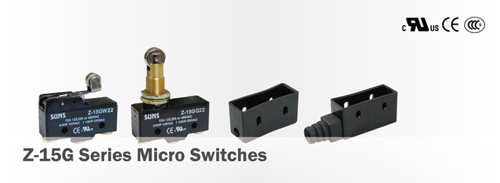 Z-15G Series Micro Switches