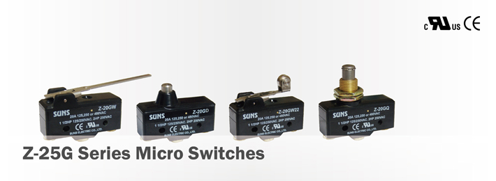 Z-25G Series Micro Switches