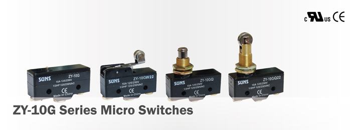 ZY-10G Series Micro Switches