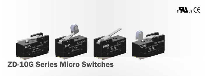 ZD-10G Series Micro Switches