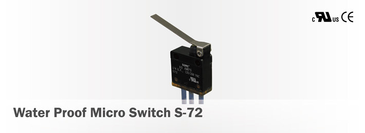 Water Proof Micro Switch S-72