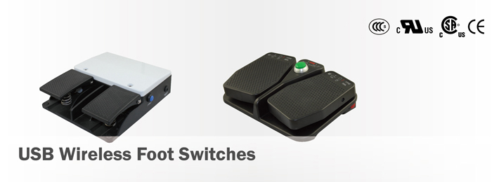 USB Wireless Foot Switches