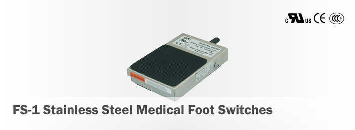 FS-1 Stainless Steel Medical Foot Switches