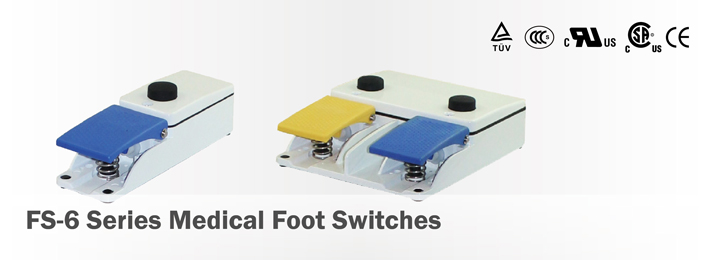 FS-6 Medical Foot Switches