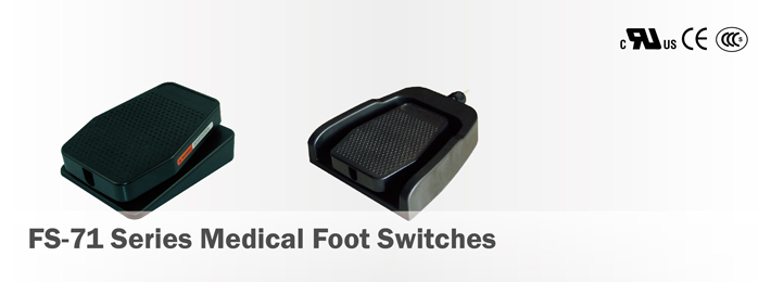 FS-71 Series Medical Foot Switches