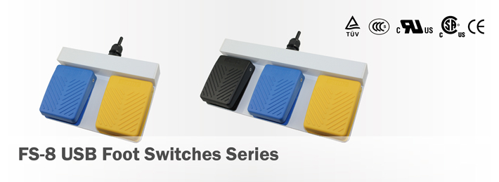 FS-8 USB Foot Switches Series