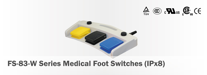 FS-83-W Series Medical Foot Switches(IPx8)