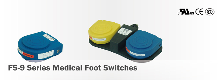FS-9 Medical Foot Switches