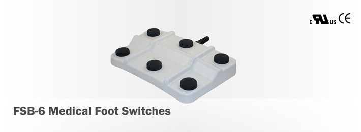 FSB-6 Medical Foot Switches