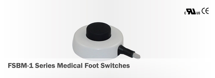 FSBM-1 Series Medical Foot Switches