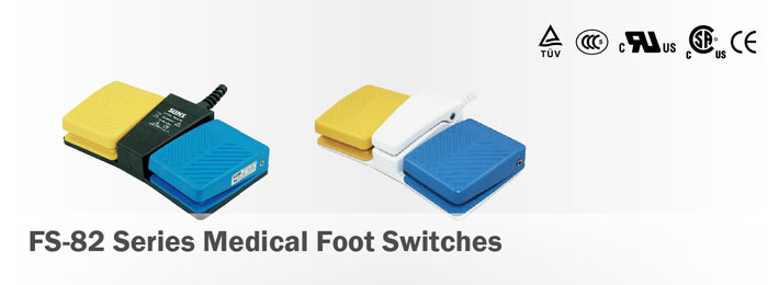 FS-82 Series Medical Foot Switches