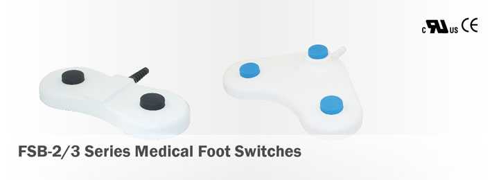 FSB-2/3 Series Medical Foot Switches